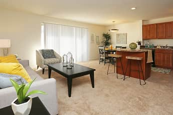 Living Room, Stone Ridge Apartments and Townhomes, 1