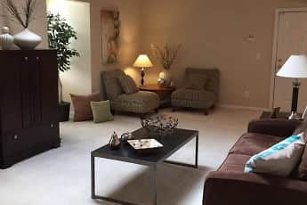 Living Room, Hunter's Manor, 1