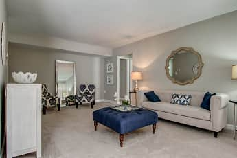 Living Room, Crystal Springs Apartments, 1