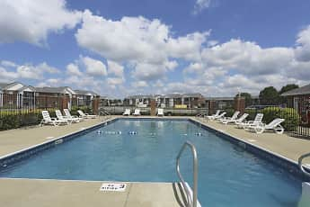 Pool, Cross Lake Apartments, 1