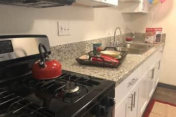 Kitchen, Los Olivos Apartments, 0