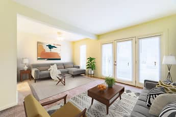 Living Room, Woodscape Apartments, 0