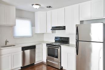 Kitchen, Oak Park Apartments, 1
