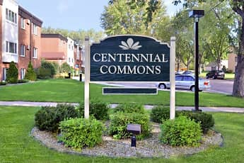 Community Signage, Centennial Commons, 2