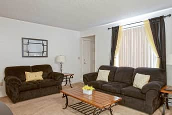 Living Room, Whispering Meadows Apartments and Suites, 1