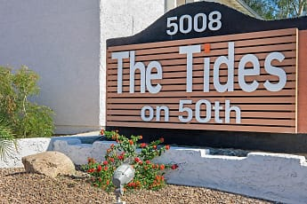 Community Signage, Tides on 50th, 0