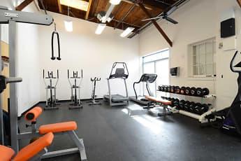 Fitness Weight Room, Rumford Center, 2