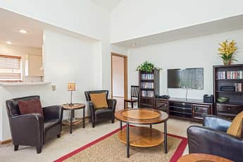 Living Room, Water Tower Place Apartments, 1