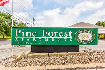 Community Signage, Pine Forest, 2