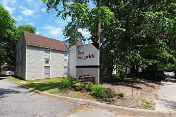 Community Signage, Fort Sedgwick Apartments, 2
