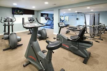 Fitness Weight Room, Rancho Hillside, 1