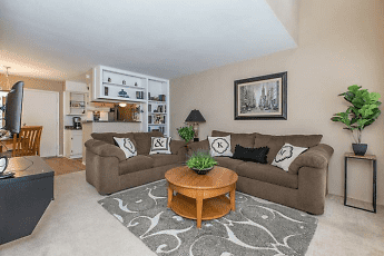 Living Room, Lafayette Green Apartments & Town-Homes, 1