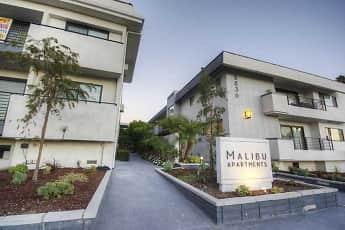 Community Signage, Malibu Apartments, 0