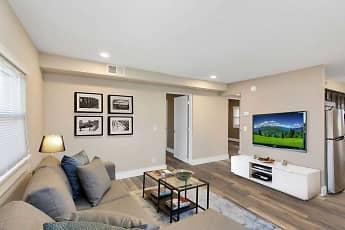 Living Room, Nine-4-Nine Apartments, 0