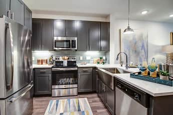 Kitchen, Enclave at Woodland Lakes, 0