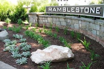 Community Signage, Ramblestone Apartments, 0