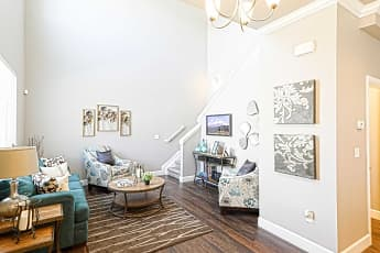 Living Room, Willow Point Townhomes, 0