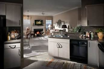 Kitchen, The Crest At Elm Tree, 1