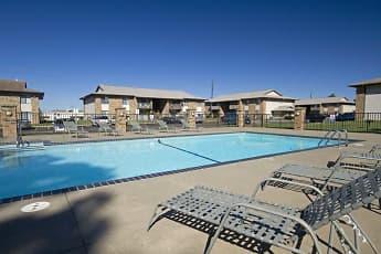 Pool, English Village Apartments, 0