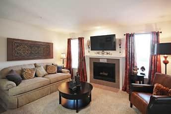 Living Room, Newport Apartments, 1