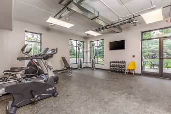 Fitness Weight Room, Mahtomedi Flats, 2