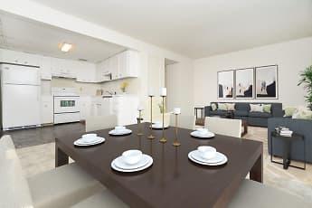 Dining Room, Vineland Village Apartment Homes, 1