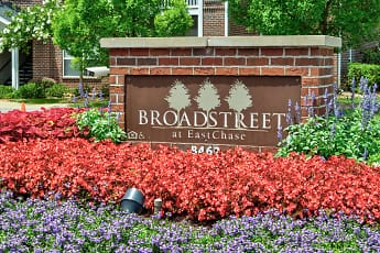 Community Signage, Broadstreet At EastChase Apartments, 2