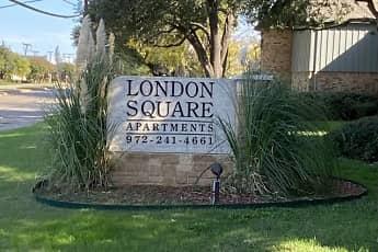 Community Signage, London Square, 0