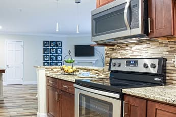 Kitchen, Centennial Apartments, 0