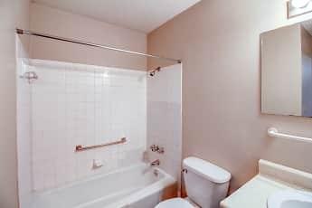Bathroom, Village Gardens Apartments, 2