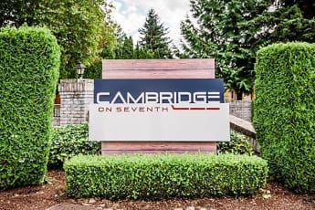Community Signage, Cambridge Apartments, 0