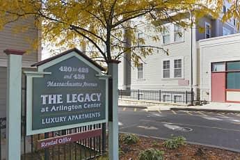 Community Signage, The Legacy At Arlington Center, 1