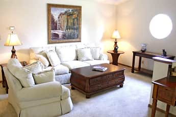 Living Room, Waters Edge Luxury Apartments, 1