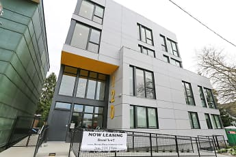 Building, Tod Apartments, 0