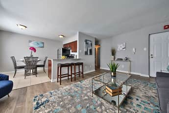 Living Room, North Brook Apartments, 0