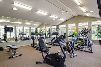 Fitness Weight Room, Village in the Park, 1