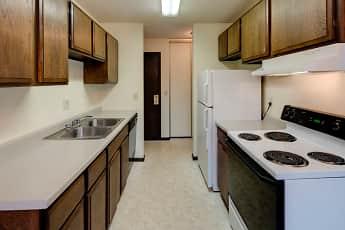 Kitchen, Lamplighter Village Apartments, 0