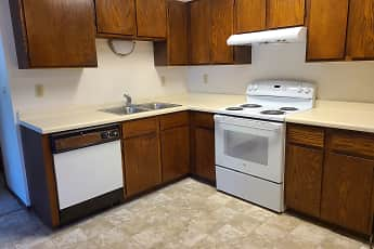 Kitchen, Green Apartments, 0