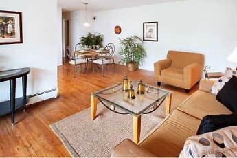 Living Room, Tov Manor Apartments, 1
