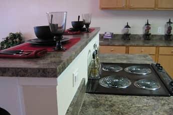 Kitchen, Bridgeway Apartments and Townhomes, 1