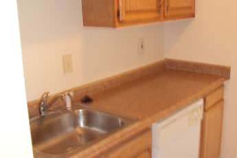 Kitchen, Carriage House Apartments, 1