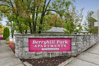 Community Signage, Berryhill Park Apartments, 0