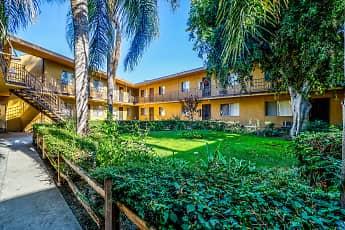 Building, Palm Gate Apartments, 1