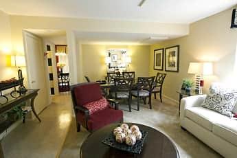 Living Room, Howard Hills Townhomes, 0