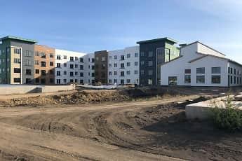 Building, District Apartments, 1