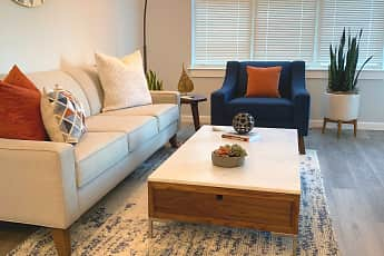 Living Room, Gilbert Crossing Apartments, 1