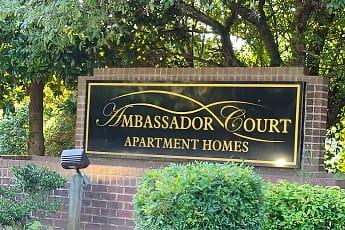 Community Signage, Ambassador Court Apts, 0