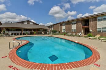 Pool, Casady Apartments, 0