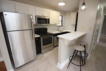 Kitchen, Shadyside Apartments, 0