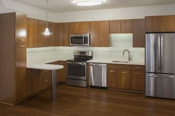 Kitchen, Park South Apartments, 2